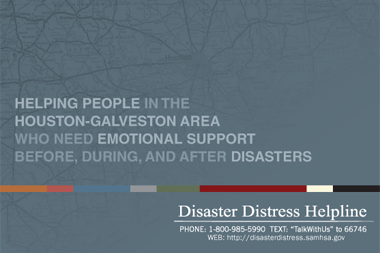 Promoting a Disaster Helpline